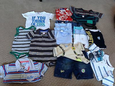 Bulk Size 0 Summer Boys Clothes - some not worn
