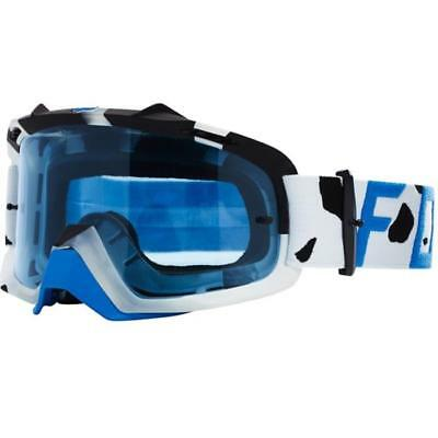 FOX Air Space Draftr MX Brille Weiß/Blau dsK7Et