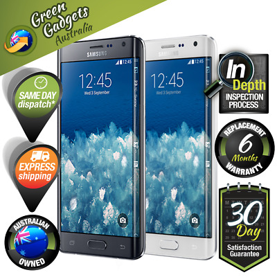 Samsung Galaxy Note Edge N915 32GB 64GB Black White Unlocked Smartphone