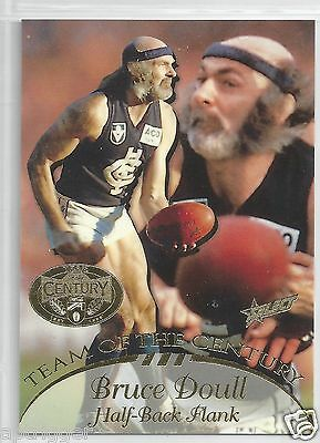 1996 Select Hall of Fame Team of the Century (TC 7) Bruce DOULL Carlton ~~