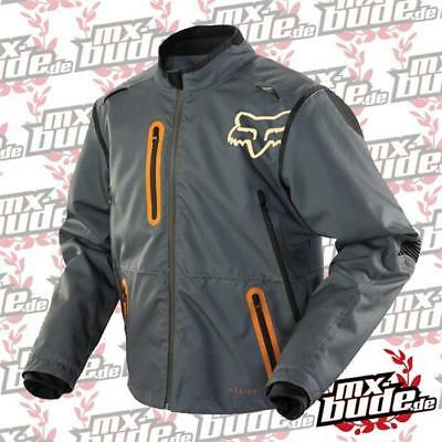 Fox Motocross Jacke - Legion Grau/Orange Motocross Enduro MX Cross