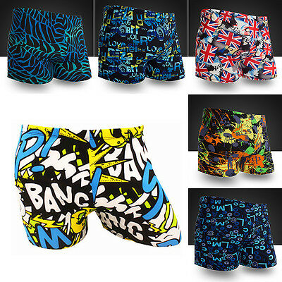 2017 Men Summer Beach Swimming Swim Trunks Shorts Pants Swimwear Boxer Briefs