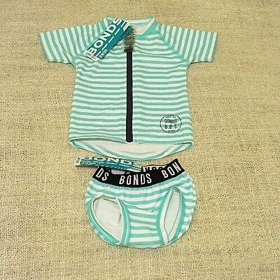 BNWT Bonds Swimwear Set Size 000  / 0-3months UPS50+