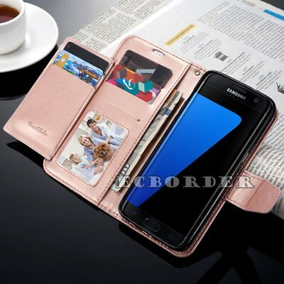 Luxury Magnetic Flip Stand Cover Wallet Leather Case For Samsung Galaxy Models