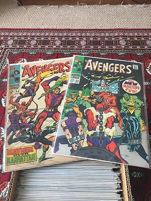 The Avengers 54 & 55 - 1st Ultron - Key Issue