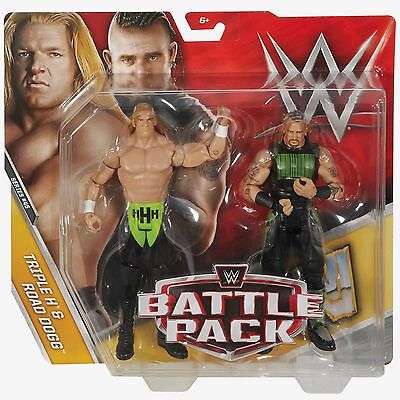 WWE Battle Pack Series 45 - Triple H and Road Dogg Figures