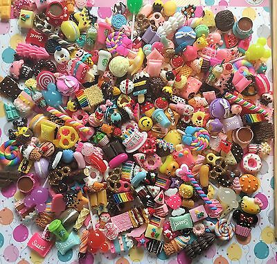 *NEW PIECES* Premium Resin Sweet Mix Cabochons, 150 Pieces