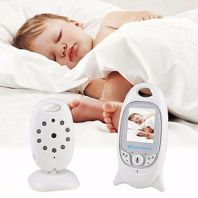 Wireless Digital 2.0'' LCD Color Baby Monitor Secure Camera Video Night Vision