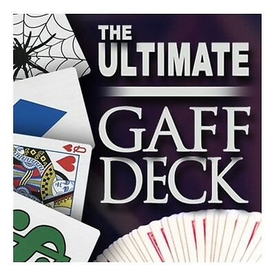 Magic Makers The Ultimate Gaff Deck Kit - Bicycle Gaff Deck Set - Magic Cards