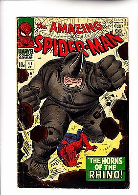Amazing Spider-Man 41 1st app of Rhino c2