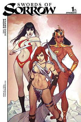Swords Of Sorrow #1 (Of 6) Cvr B Frison Var