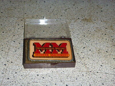 Minneapolis Moline  Logo Collectible Belt Buckle New In Box