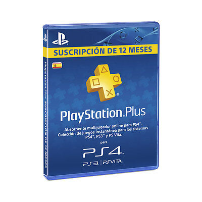PlayStation Plus Card per a 365 Dies/Spa
