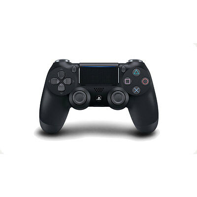 Dualshock PS4 Cont Black Med V2