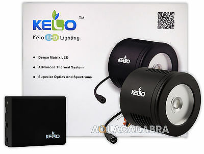 Kelo Led Unit 100W Free Wifi Controller Marine Lighting Reef Aquarium Fish Tank