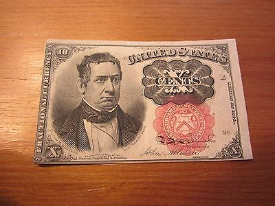 1874 $.10 Cent 5th Issue Fractional