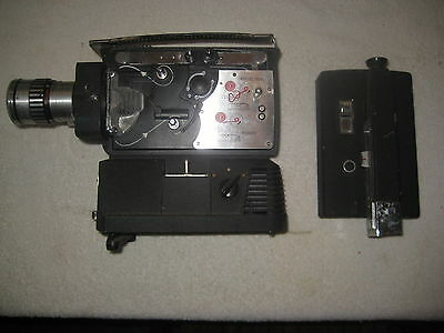 Wittnauer Cine Twin Model WD 400 8mm Movie Projector Camera