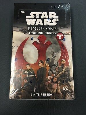 Star Wars  Rogue One Trading Cards Sealed Hobby Box