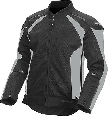 Fly Racing 477-4054S Coolpro Jacket Sm Silver/Black