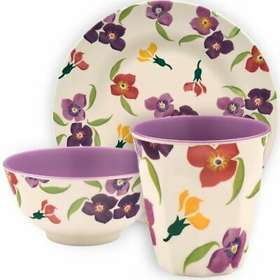 Emma Bridgewater - Wallflower - Melamine - Available in Plates, Bowls or Beakers
