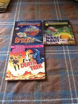 Starblazer Space Fiction In Pictures X 3