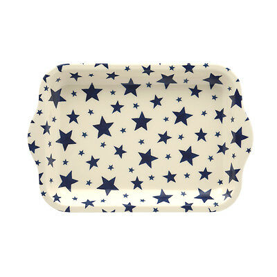 Emma Bridgewater - Small Melamine Rectangular Tray - 22 x 14.5cms - Starry Skies