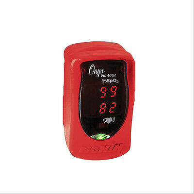 Onyx Vantage 9590 Pulse Ox- Red  1 ea