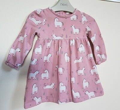 John lewis unicorn dress 6-9 months baby girl