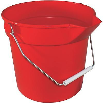 Impact 10 Quart Red Bucket