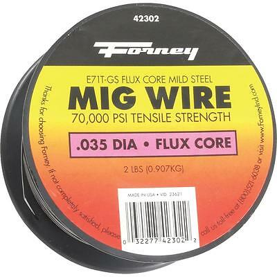Forney 2Lb .035 Flux Mig Wire