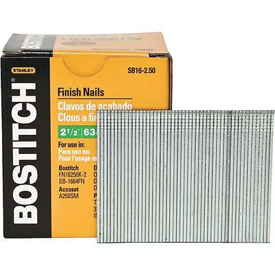 "Bostitch 2-1/2"" 16Ga Finish Nail"