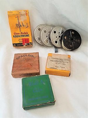 Lot Of Vintage 16Mm Home Movies Films 1950's Virginia