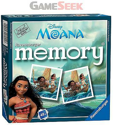 Ravensburger Disney Moana Mini Memory Game - Toys Brand New Free Delivery