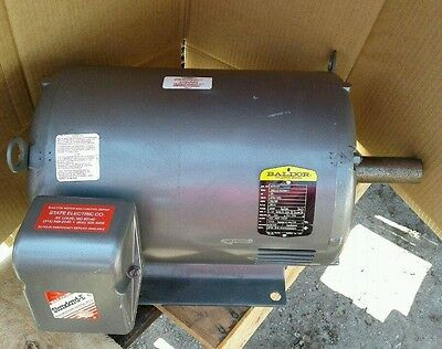 Baldor M2516T 25HP electric motor 3510 RPM 230/460 256T frame 3ph