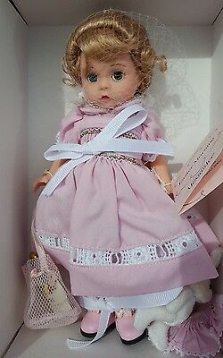 """Madame Alexander 8"""" Easter Morning No. 34090 Lenox Limited Edition w/ Bunny"""