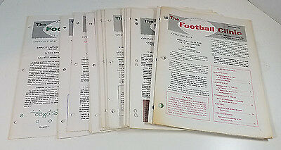 Vintage The Football Clinic Back Issues 1967-69 Lot of 14 Coaching