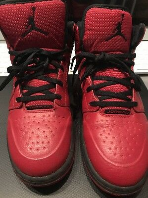 nike air jordan 1 Red basketball shoes 555074-601 Boy's Sneaker youth size 7y