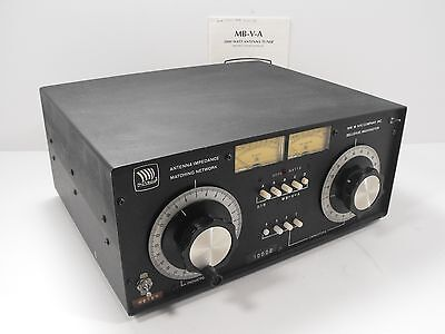 NYE VIKING MB-V-A 3000 Watt Antenna Tuner for Ham Radio w/ Orig Manual  (Tested)