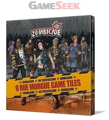 Zombicide Rue Morgue Tiles Pack - Games/puzzles Board Games Brand New