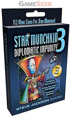 Star Munchkin 3: Diplomatic Impunity - Toys Brand New Free Delivery