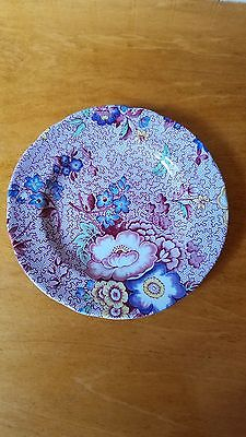 Spode Florence Pink Floral Chintz Salad plate, Mint condition, retired