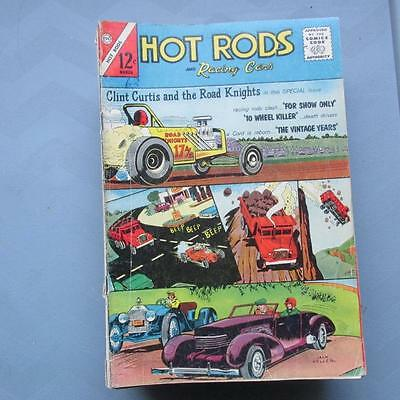 Hot Rods and Racing Cars 62 GD/VG  SKUB22707 25% Off!