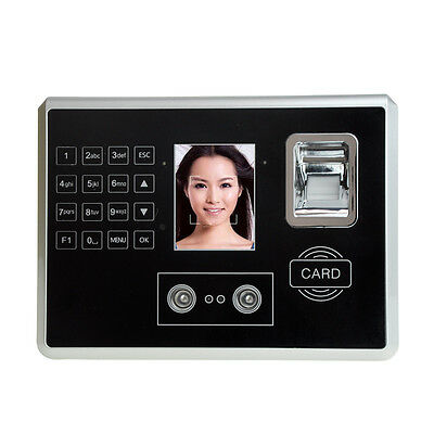 """4.3"""" TFT Face & Fingerprint Recognition RFID and password Attendance Machine New"""