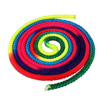Rainbow Nylon Gym Rope Ginastica Color Gymnastics Rhythmic Competition
