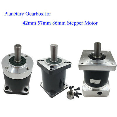 Planetary Reducer Gearbox 5:1 10:1 15:1 20:1 30:1 50:1 100:1 for Stepper Motor