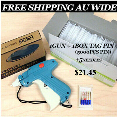 Clothes Price Label Tagging Tags Gun Machine -FREE SHIPPING in Australia