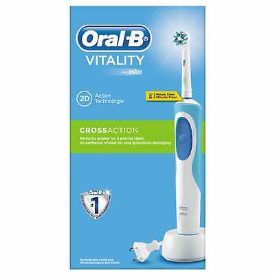 Cepillo de Dientes Braun D12 Cross Action Azul