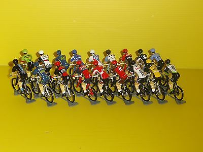 FIGURINE CYCLISTE - CYCLIST FIGURE -  2017 - Metal - WORLD TOUR - 18 EQUIPES