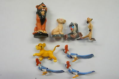 Cereal Toys Lion King set of 6 figurines + 2 spares 1994 Sanitarium