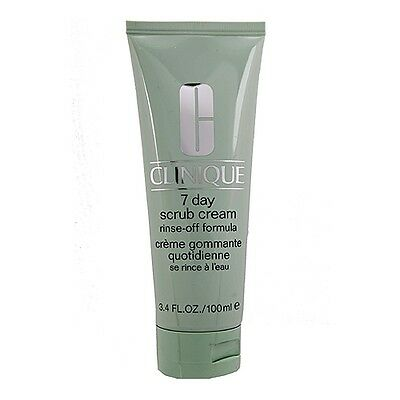 Clinique 7 Day Scrub Cream Rinse-Off Formula 3.4oz,100ml Refine Cleanser #2598
